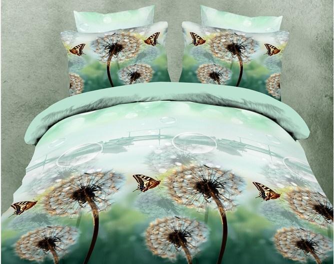 buy housse de couette marque flower oil painting designer bedding sets queen size duvet cover. Black Bedroom Furniture Sets. Home Design Ideas