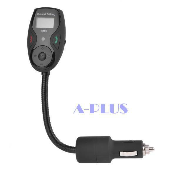 Production house wholesale Bluetooth hands-free phone FM transmitter 610S a generation of fat(China (Mainland))