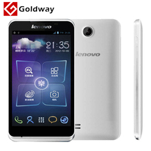 Original Lenovo A590 Mobile phone 5 inch 800x480px MTK6517 Dual Core Android 4.1 512MB 4GB ROM GPS Play store(Hong Kong)