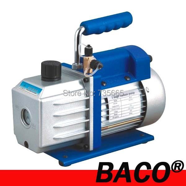 RS-4 vacuum pump/ 8 CFM Single stage electric vacuum pump for packing machine at 220v, 50hz, 3/4hp(China (Mainland))