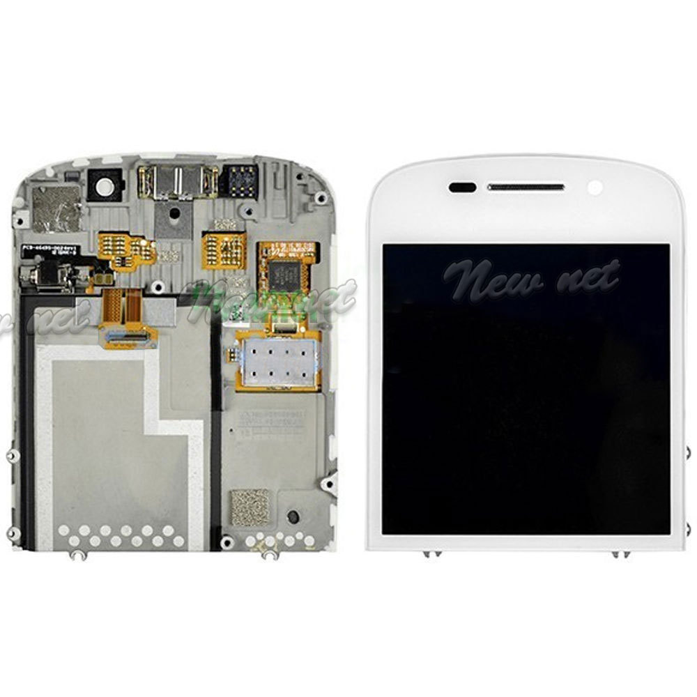 Hot Selling New Arrival Lcd Display Touch Screen Digitizer Blackberry Q10 White Assembly For