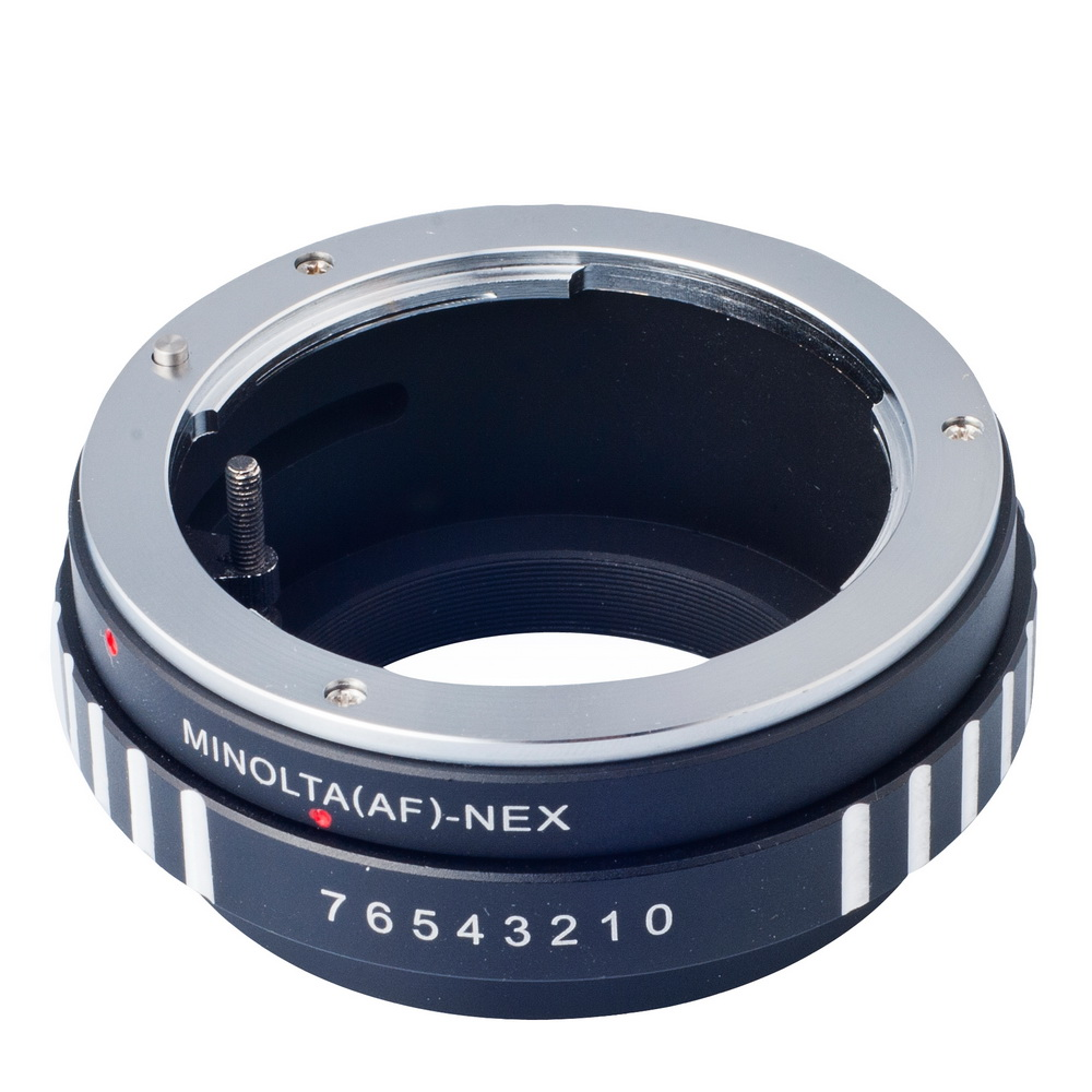 Mount lens Adapter Ring for Sony Alpha for Minolta AF A-type Lens to for Sony Alpha NEX E-mount Camera Adapter DC111-SZ(China (Mainland))