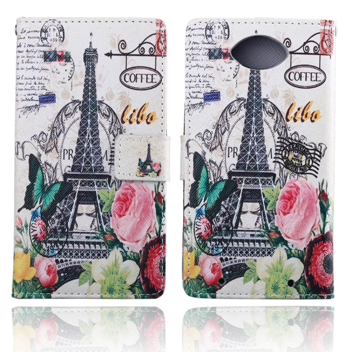 2015 Cartoon OWL Tower Flower Flip Wallet Stand Leather Case HUAWEI ASCEND Y530 Card Holder Silicone Back Cover - Shenzhen MaySun Electronic Co. , Ltd store