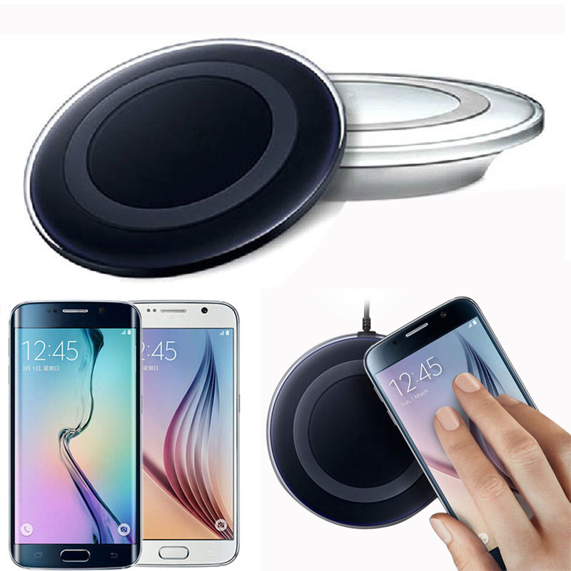 Alipower High Quality Qi Wireless Charger Charging Pad for Samsung Galaxy S6/S6 Edge AND Other Qi compliant Device Freeshipping
