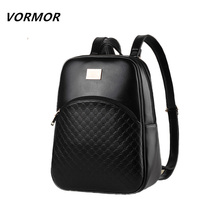 High quality new candy women backpacks, famous designer brand vintage backpack fashion style PU leather school bags(China (Mainland))