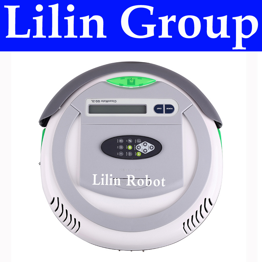 (Free to Chile) Robot Vacuum Cleaner,Multifunction(Vacuum,Sweep,Sterilize,Air Flavor),LCD,Timing Set,Self Charge,Remote Control(China (Mainland))