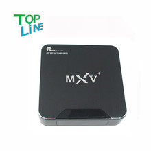 MXV Plus Android 5.1 Tv Box Amlogic S905 64-Bit Quad-Core KODI Pre-installed 1GB/8GB WiFi Bluetooth H.265 HDMI