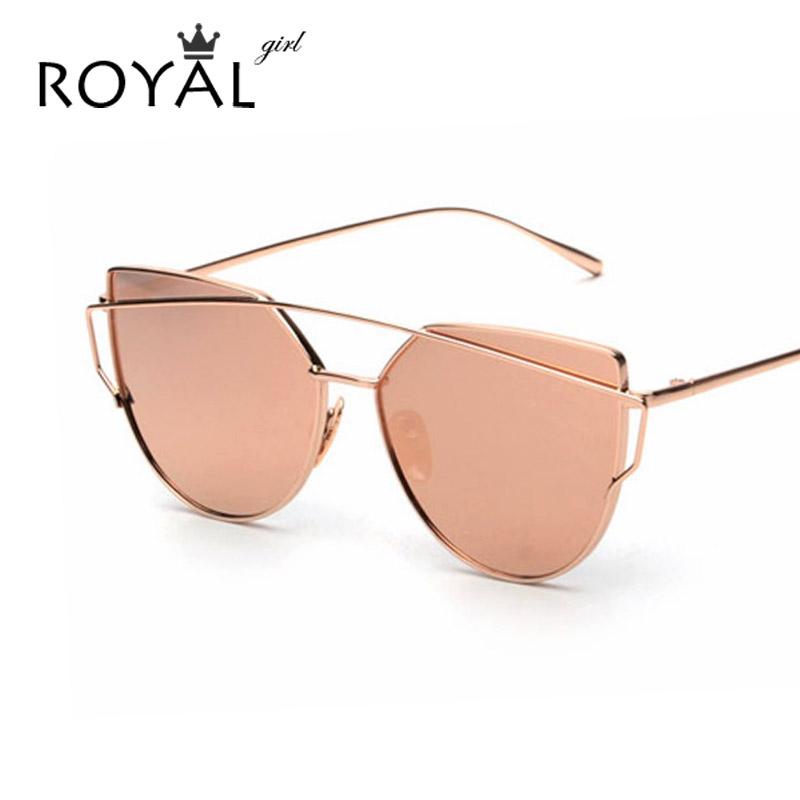 2016 NEW Brand Designer Women Sunglasses Metal Frame Flat Sun glasses Vintage Mirror Shades ss495(China (Mainland))