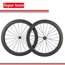 1 Pair of carbon fiber road wheelset matte finish 700C carbon wheels clincher 60mm for road bicycle(China (Mainland))