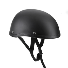 Buy CARCHET Motorcycle Helmets Half Helmet 54-60cm Unisex Protection Helmet Capacete Half Shell Helm Matte Retro Racer Motocross for $13.49 in AliExpress store