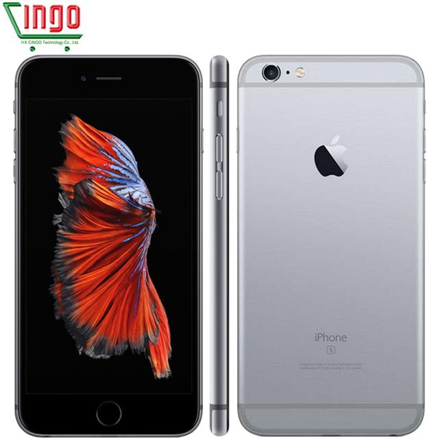 """Оригинальный Apple iPhone 6 s Plus Разблокирована 2 ГБ ОПЕРАТИВНОЙ ПАМЯТИ 16/64/128 ГБ ROM Сотовый телефон IOS 9 A9 Двухъядерный 12MP Камера 5.5 """"IPS LTE телефон"""