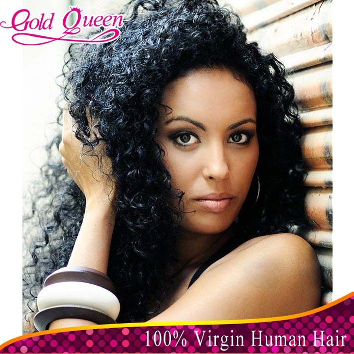 celebrity Brazilian deep curly hair wig virgin Brazilian human hair lace front wigs glueless full lace wig baby hair free ship(China (Mainland))