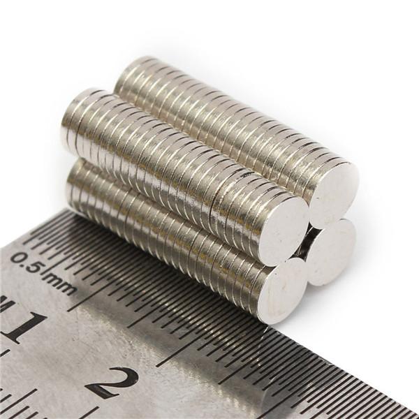 200pcs N52 6x1mm Disc Neodymium Magnet Strong Rare Earth Small Fridge Magnets<br><br>Aliexpress