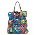 Hot Fashion Brand Women s Same As Baobao BAG Design Colorful Ladies Bao Bao Rainbow Lattice