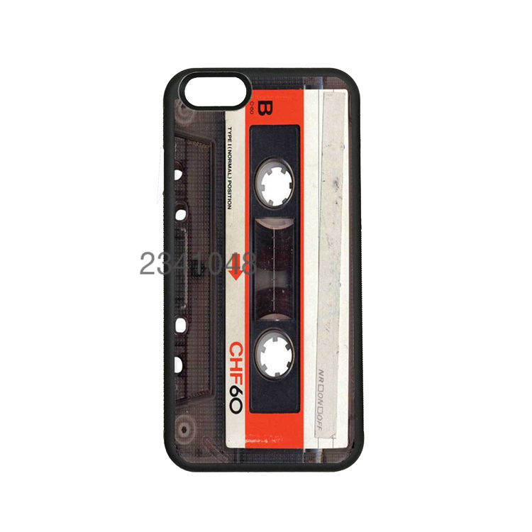 audio cassete soft hard skin mobile phone cases for iPhone4s 5c 5s 6 6s 6plus 6Splus cover case(China (Mainland))