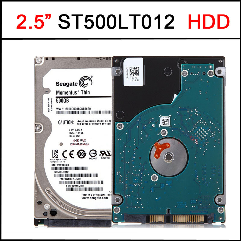 "New 7mm Thin 2.5"" SATA III ST500LT012 500GB Hard Drive Disk 5400RPM 16MB For Seagate(China (Mainland))"