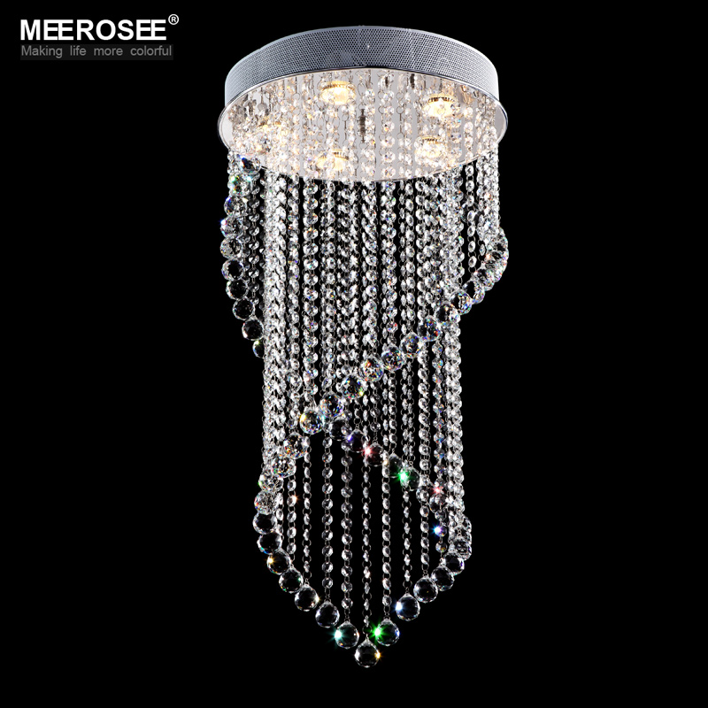 crystal ceiling lights crystal lustres fitting flush mount lighting