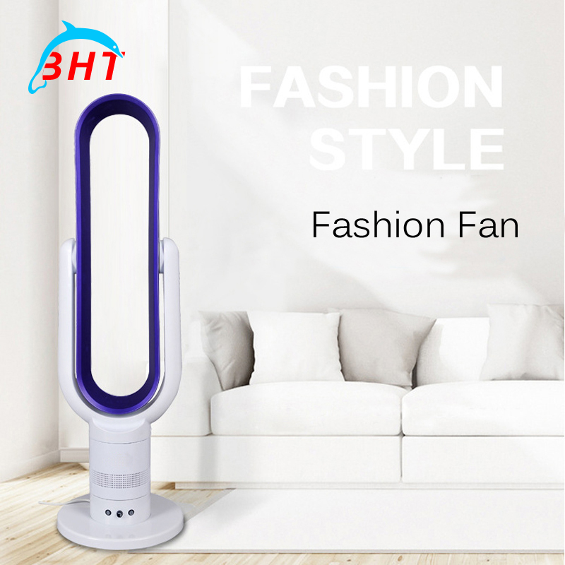 2016 New No leaf Fan For House & Office Use Low Noise Remote Control Cooling Wind Super Silence Air Condition Bladeless Fan(China (Mainland))