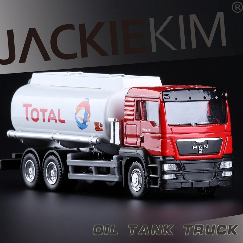 High Simulation Exquisite Collection Toys: RMZ Car Styling Oil Tank Truck Model 1:64 Alloy Truck Model Fast&Fruious(China (Mainland))