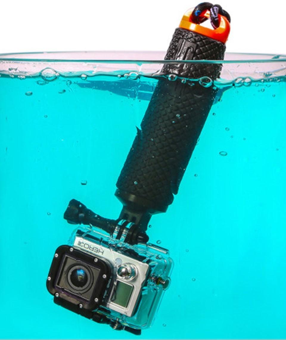 Gopro Accessories Bobber Floating Handle Grip Tripod monopod Mount For Go pro Hero 4 3+ 3 SJCAM sj4000 Xiaomi Yi Action Camera