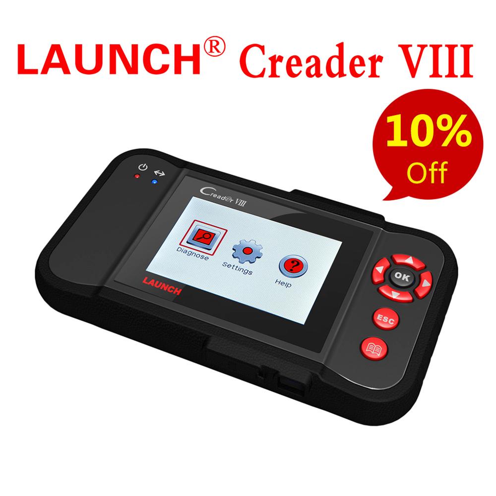 Original Launch X431 Creader VIII Code Reader 8 Full System Scanner - Free Update Online + HKP Free(China (Mainland))