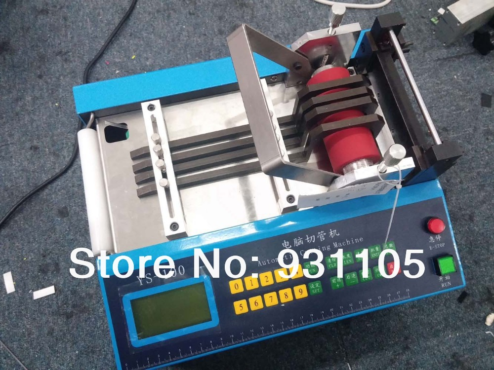 Auto Heat-shrink Tube Cable Pipe Cutter Cutting Machine YS-100(China (Mainland))