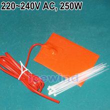 Engine Heater Oil Pan Tank Heater 250 Watt - 220/240 Volt Pad Heater Reduce Wear(China (Mainland))