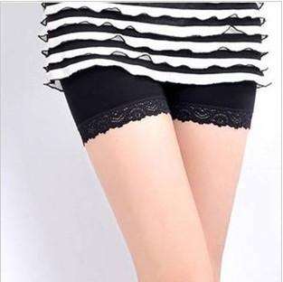 2013 legging thin summer female shorts lace pants safety pants viscose summer shorts