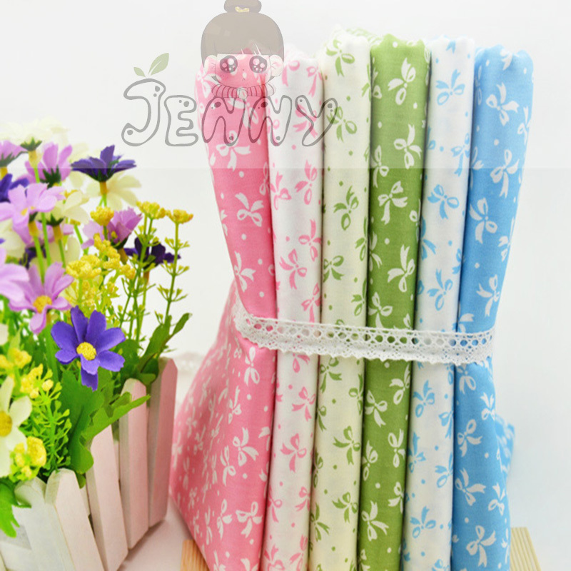 butterfly Cotton Fabric Fat Quaters Tilda Cloth Quilting Scrapbooking Patchwork Fabrics For Sewing 6 color butterfly 40*50CM(China (Mainland))