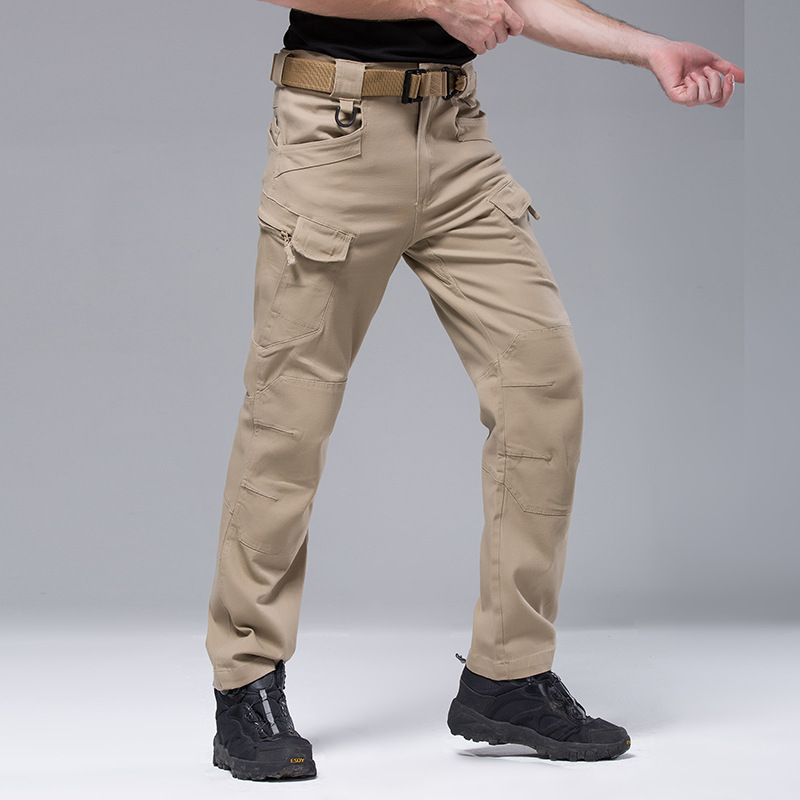 2015 new men trousers outdoor high quality proof overalls hiking camping pants Outdoor casual  multi-pocket pants tactical pants