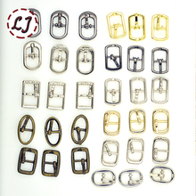 New arrived 30pcs/lot silver gun-black gold small Square round alloy metal shoes bags Belt Buckles DIY Accessory Sewing XK023(China (Mainland))