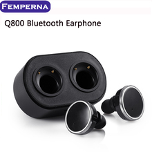 Hot ! Original Bluetooth earphone Wireless In-ear Earbuds Double Track Headphone For iPhone 7 7 plus Noise Cancel True Eaphones(China (Mainland))