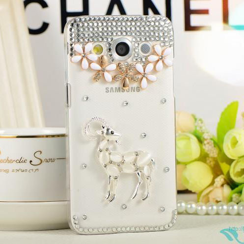 luxury bling diamond rhinestone Crystal protective case shell cover For Samsung Galaxy J500 J5/Z3/O7 ON7/J3/J2 mobile phone case(China (Mainland))