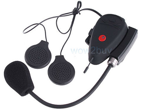 New arrival bluetooth headset for motorcycle helmet with intercom+support MP3-100m SA14