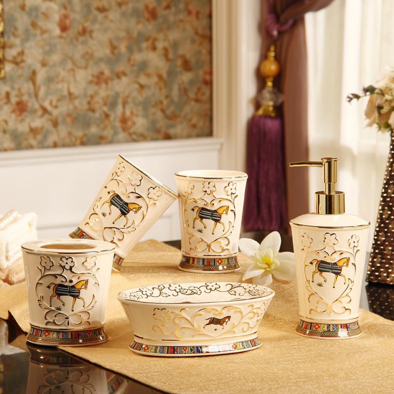 Porcelaine porte brosse dents achetez des lots petit for Ensemble salle de bain porte savon