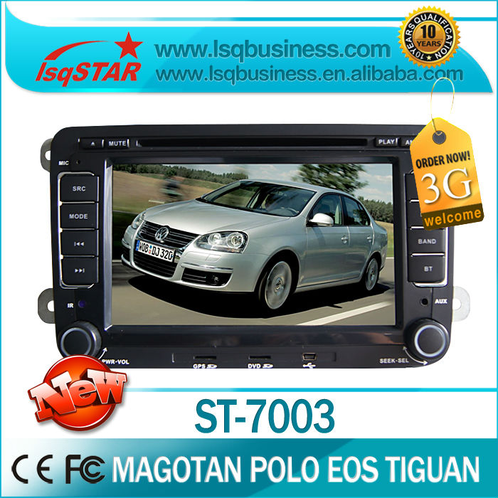 LSQ Star in car video with gps navi for VW GOLF(MK6)(2009-2011)with DVD,BT,Radio,IPOD,USB,SD,6CDC,PIP,3G ,SWC, DUAL ZONE(China (Mainland))