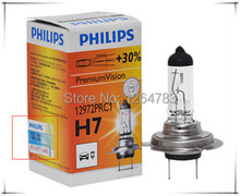 Hot genuine big car near light bulb H7 12V55W high beam bulbs 2pcs / lot free shipping!(China (Mainland))