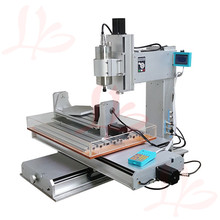 Mini cnc router 6040 with high performance 1.5kw water cooled 5 axis cnc milling machine, Russia free tax(China (Mainland))