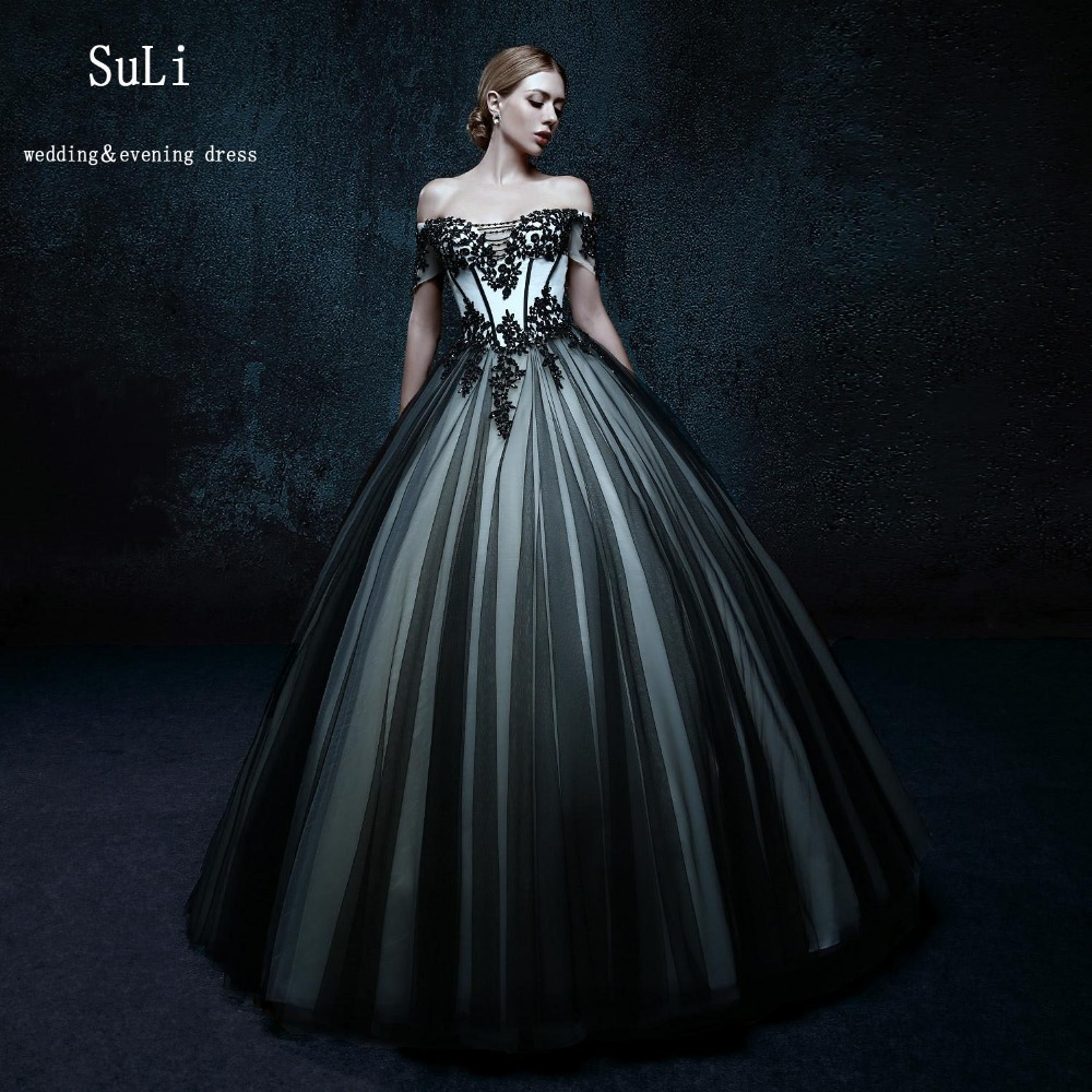 Funky Black Ball Gowns Cheap Photos - Wedding and flowers ispiration ...
