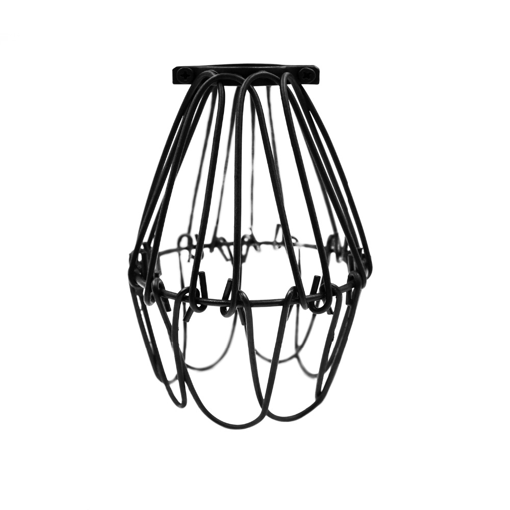 Vintage Industrial Lamp Guard Classic Black Nordic Bulb Birdcage Lights Iron Wire Lamp Cage Lampshade Free wire 220 outlet 3 wire twist lock roslonek net,Wiring Diagram For 30 Amp 240 Volt Plug