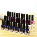 Three Layers Cosmetic Nail Polish Display Rack Removable Acrylic Nail Polish Bottles Holder Makeup Organizer Storage
