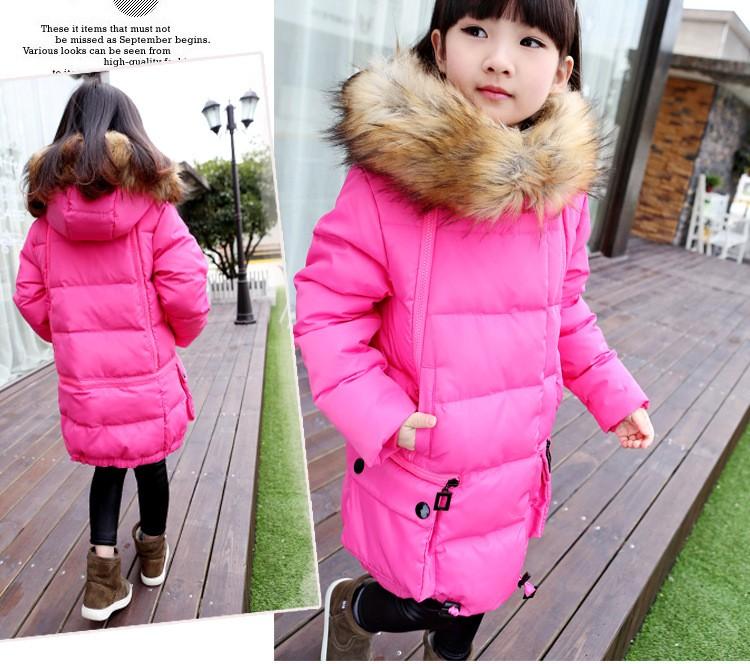 Скидки на Новый зимнее пальто девушки пуховик дети верхняя одежда теплая одежда детская одежда утка вниз высокое качество