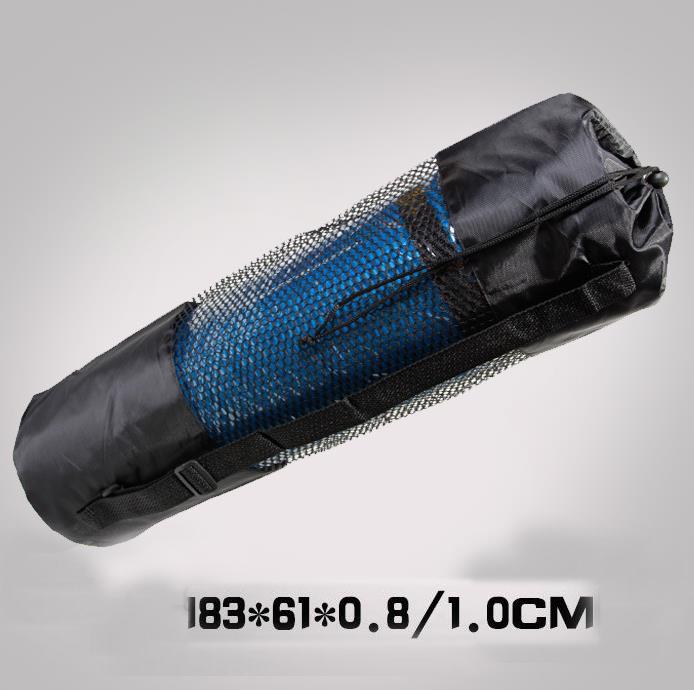 Oxford Yoga mat bag back bag portable bag for yoga mat sut for yoga mat size183x61x0.8/1.0cm/whole sale 25pcs/lot#YGI20150710W3(China (Mainland))