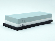 1 Pc Double-sided 1000#4000 Sharpening Stone Waterstone Dual Whetstone H5049F1(China (Mainland))
