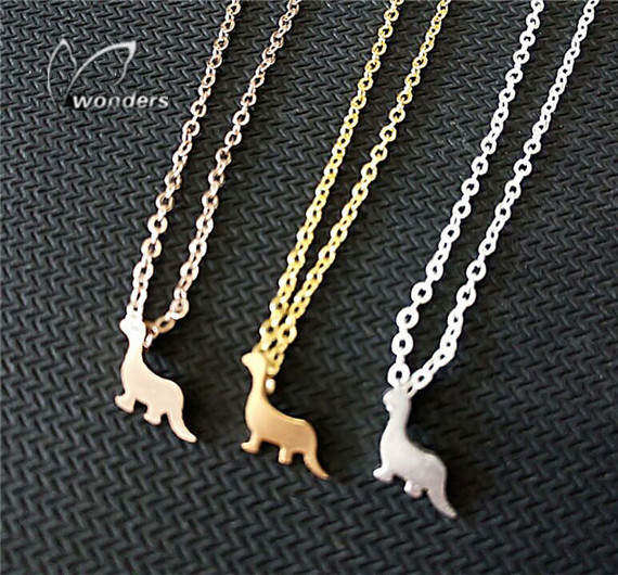 Wholesale 30 pce/lot 2014 Unique Woodland Animal Tiny Dinosaur Necklace Fashion Baby Dragon Pendant Necklace<br><br>Aliexpress