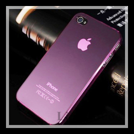 Free shipping New 50PCS/Lot frosted ultrathin protection shell high transparent for iphone 4 4s case #8142