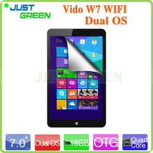 7 inch Original Vido W7 Dual Boot Intel Z3735G Quad Core 1GB RAM 32GB ROM Tablet PC HDMI Dual System Android 4.4 & Windows 8.1(China (Mainland))