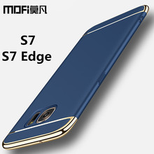 for Samsung S7 case Samsung Galaxy S7 Edge case cover hard back protection S7edge capas coque blue gold MOFi original s7 cover(China (Mainland))