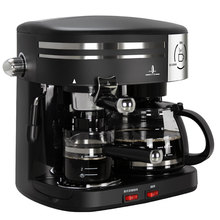 Free shipping American Italian household drip type automatic steam coffee machine