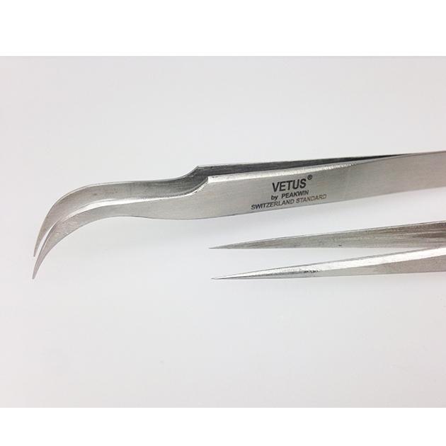 10pcs 5 straight 5 curved Free shipping false eyelashes tweezer sets
